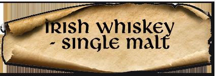 Irish Whiskey at An Droichead Beag