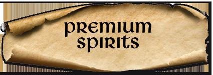 Premium Spirits at An Droichead Beag